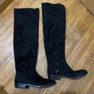 Zara high knee boots